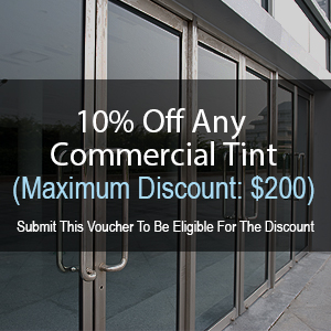 10% Off - Any Tint (Maximum Discount: $200)